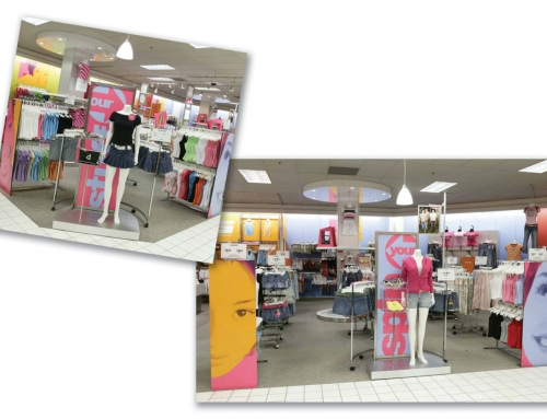 Mervyn's In-Store Environments