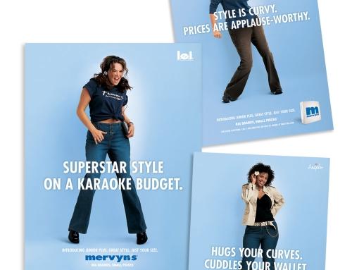 Mervyn's Sixteen Ads