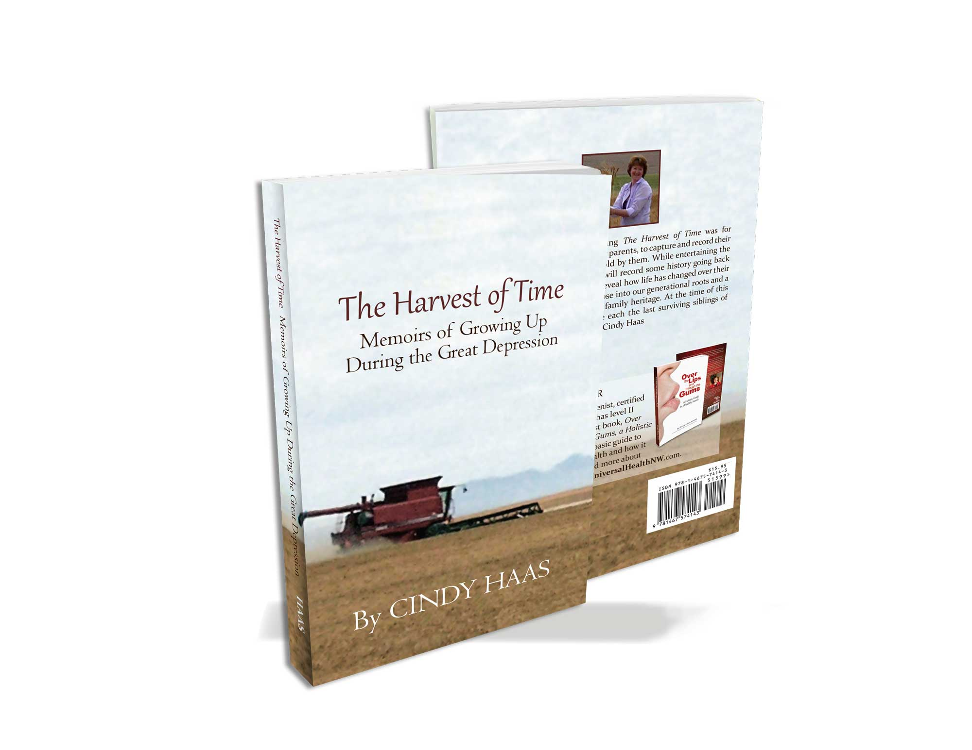Cindy Haas Harvest of Time Book Design