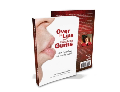 Cindy Haas Over the Lips and Through the Gums Book Design