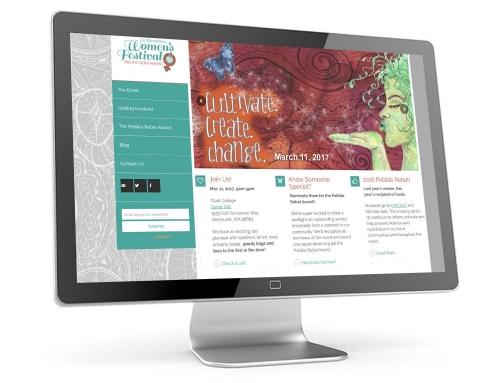 International Women's Festival Pacific Northwest Web Design