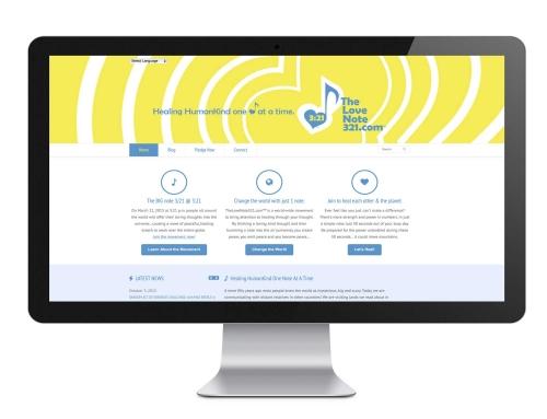 The Lovenote 321 Web Design