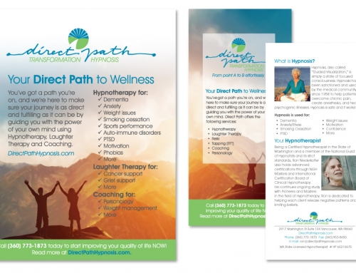 Direct Path Hypnosis Print